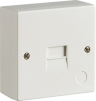 KnightsBridge 2/1A Surface Mount Master Telephone Socket (IDC)