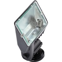 KnightsBridge IP33 300W Tungsten Halogen Floodlight Black