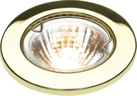 KnightsBridge IP20 12V 50W max. L/V Downlights with Bridge