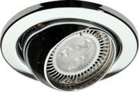KnightsBridge 50W max. L/V Eyeball Downlights with Bridge (Option: Chrome)