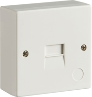 KnightsBridge 2/3A Surface Mount Telephone Extension Socket (IDC)