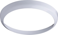 KnightsBridge White Bezel for 24W LED Bulkhead 400mm