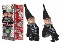 PMS 12 Vinyl Head Elf in Black Clothes - 2 Pack