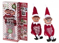 PMS 12 Vinyl Head Elf in Red Clothes - 2 Pack