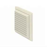 Polypipe Domus 150mm Fixed Grill Vent - White