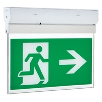 Hi-Spec 3W LED Emergency Exit Box with 7 Legends
