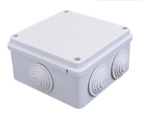 ESR Square IP56 Junction Box With Rubber Grommets