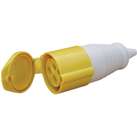 ESR 16A 3P 110V YELLOW Female Coupler