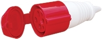 ESR 16A 4P 380-415V RED Female Coupler