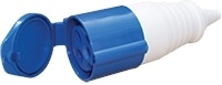 ESR 32A 3P 240V BLUE Female Coupler