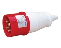 ESR 16A 4P 380-415V RED Male Plug