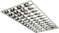 KnightsBridge 230V IP20 4x36W T8 HF CAT2 Modular Fluorescent Fitting