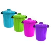 Brights Small Bin with Clip on Lid 7L