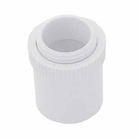 Greenbrook 25mm White PVC Conduit Male Adaptor