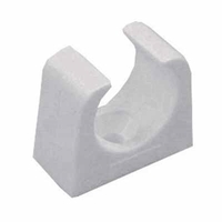 Greenbrook 20mm White PVC Conduit Push-in Round Clip