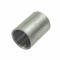 25mm Solid Coupler Galvanised  by Greenbrook