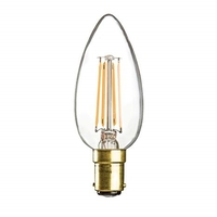 4W SBC LED Candle Bulb by KnightsBridge