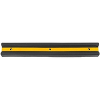 Zexum Rubber Wall Protector - Black & Yellow