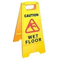 Zexum WET FLOOR A-Frame Floor Sign