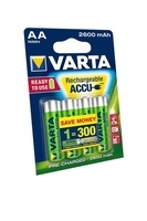 Varta AA Rechargeable Batteries - 4 PACKS