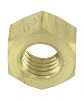 Zexum M4 Brass Hex Nut - 10 PACK