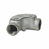 Zexum 20mm Galv Inspection Elbow