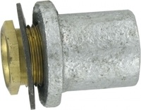 Zexum 20mm Malleable Flange Coupler