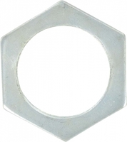 Zexum 25mm Hex Locknut  - 10 PACK