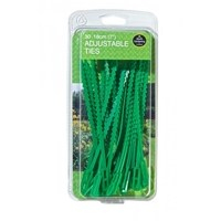 Garland 18cm Adjustable Ties for Gardening - 30 PACK