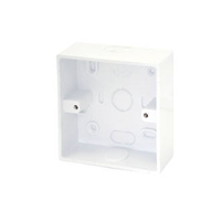 ESR PVC Surface Box with 20mm Knockouts