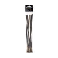 Blackspur 360 x 4.6mm Stainless Steel Cable Tie - 20 PIECE