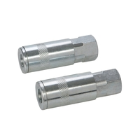 "Silverline 1/4"" BSP Air Line Female Thread Quick Coupler - 2 PACK"
