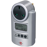 Brennenstuhl Primera-Line Wattage & Current Meter - UK