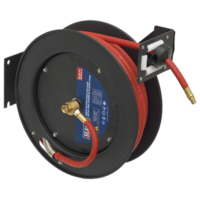 Sealey 15m Retractable Air Hose Metal Reel