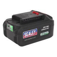 Sealey 20V 3Ah Li-Ion Battery for CP20V Series