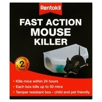 Rentokil Fast Action Mouse Killer - Twin Pack