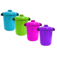 Zexum 25L Bin with Clip on Lid