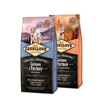 Carnilove Puppy Food - 12KG - Salmon & Turkey
