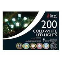 Snow White 200 LED Chaser Lights