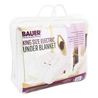 Bauer King Size Electric Blanket