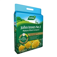 Westland John Innes No 3 Mature Plant Compost with 4 month feed - 10L