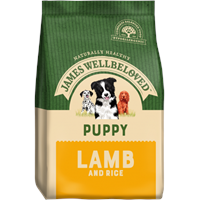 James Wellbeloved Complete Dry Lamb & Rice Puppy Food - 15KG