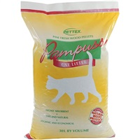 Pettex Pampuss Wood Pellet Cat Litter - 30L