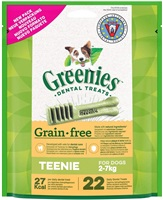 Greenies Grain Free Teenie Dog Dental Treats 170g
