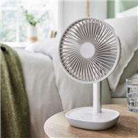 Silent Night Desktop USB Battery Fan