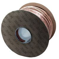 Zexum Brown 4mm 7 Strand 32A Single Core 6491X (H07V-R) Round Power PVC Insulated Conduit Wire