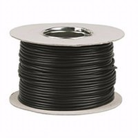 Zexum Black 10mm 7 Strand 55A Single Core 6491B LSZH (Low Smoke Zero Halogen) Round Power Insulated Conduit Wire