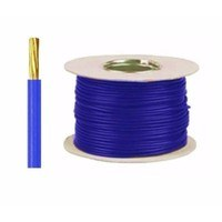 Zexum Blue 16mm 7 Strand 74A Single Core 6491B LSZH (Low Smoke Zero Halogen) Round Power Insulated Conduit Wire