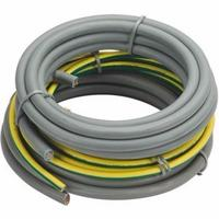 Zexum 3 Meters Grey 25mm 97A Blue Brown Meter Tails 6181Y & 3 Meters 25mm Green Yellow 6491X