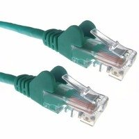 Zexum Green RJ45 Cat5e High Quality 24AWG Stranded Snagless UTP Ethernet Network LAN Patch Cable